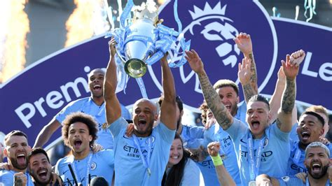 Manchester City wins Premier League title for second ...