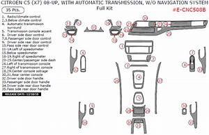 Citroen C5 2008 O Navigation System  35 Pcs