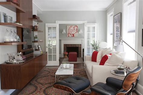 small narrow living room decorating ideas