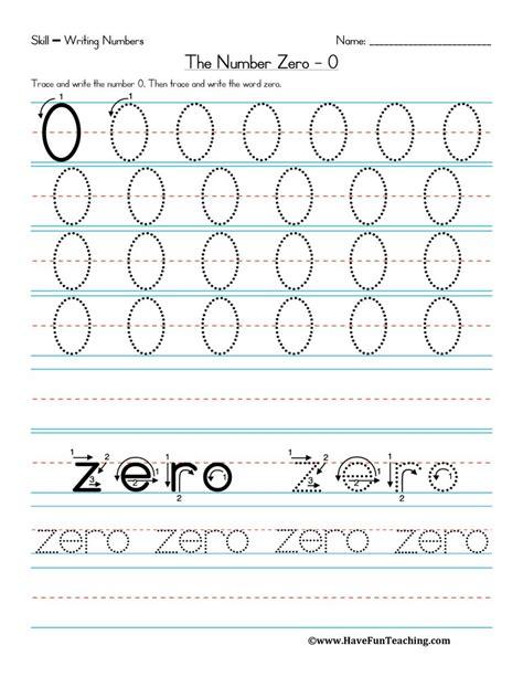 number worksheets1