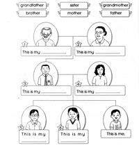 worksheet   family google search family worksheet