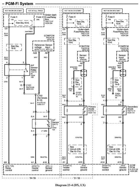 Honda Civic Secondary Oxygen Sensor Wire Harness
