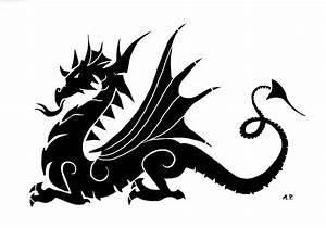 Silhouette Dragon - ClipArt Best