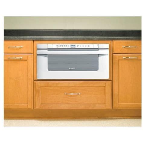 sharp kb6525pk 1 2 cu ft 30 inch microwave drawer white shopperschoice com