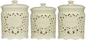 canister sets for kitchen ceramic tea coffee sugar jars lace ceramic home kitchen office storage canisters set ceramics lace