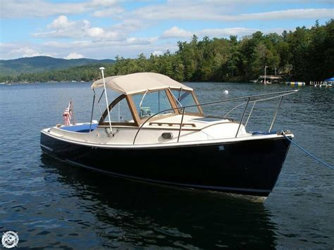 Downeast Boats by 1999 Used Wasque 26 Downeast Fishing Boat For Sale
