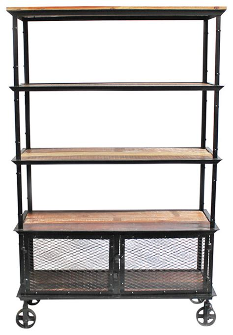 Industrial Bookcase  Industrial  Bookcases  By Design