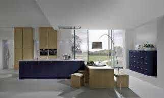 kitchen islands blue shaker kitchen style