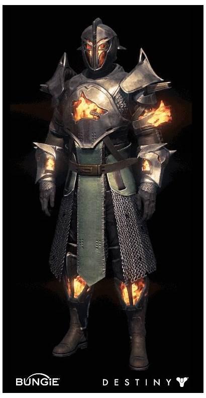 Destiny Iron Warlock Armor Rise Artstation Ornamented