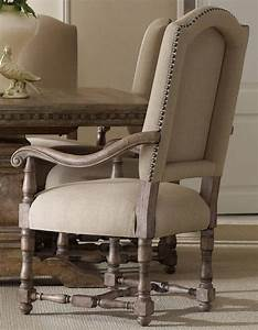 Sorella Beige Upholstered Arm Chair Set Of 2 From Hooker