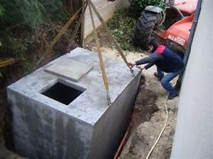 Cuve Eau De Pluie Enterrée : stockage d 39 eau de pluie cuve 5800l troyes ~ Edinachiropracticcenter.com Idées de Décoration