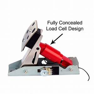 Load Cell Upgrade Kit For Logitech Pedals