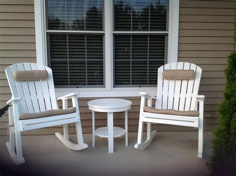 berlin gardens comfo back poly porch rocker from