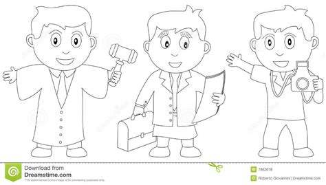 coloring book  kids  stock vector illustration