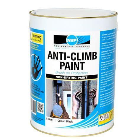 Anti climb security paint also known anti vandal & anti