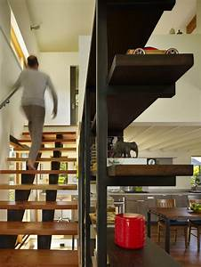 Light Wood Bookshelf Open Stairs Home Design Ideas Pictures Remodel And Decor