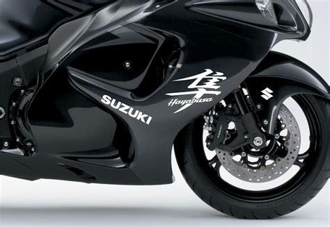 Suzuki Motorcycle Decals by Product White Suzuki Hayabusa Moto Sticker For Fairing