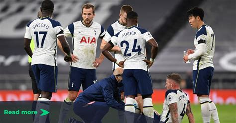 Mourinho receives injury boost in the Tottenham backline