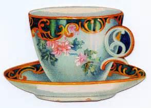 Vintage Tea Cup Clip Art Free