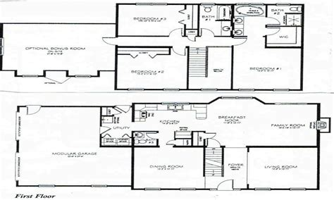 Fascinating 3 Bedroom 2 Bath House Plans The Wooden Houses