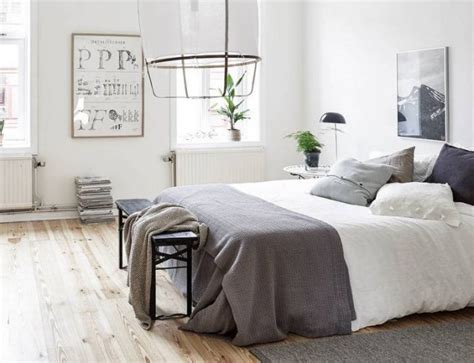 chambres aux teintes neutres joli place