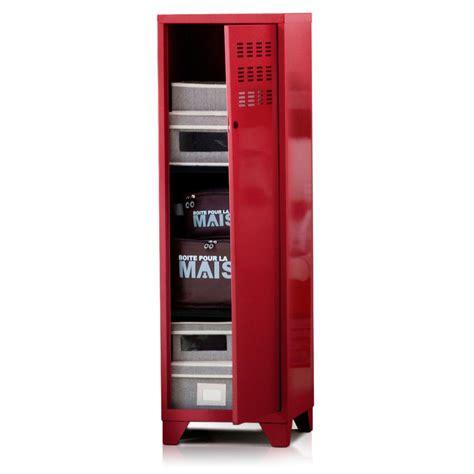 armoire de rangement m 233 tal 1 porte