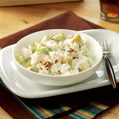 recipes with cottage cheese pear cottage cheese salad recipe taste of home