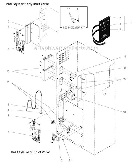 Bunn Wiring Diagram by Bunn H10x Parts List And Diagram Ereplacementparts