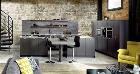 id馥 deco cuisine ouverte amenager cuisine ouverte sur salon maison design bahbe com