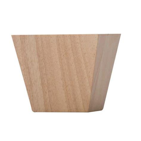 decorative wood cabinet feet grand river contemporary bun foot 3 quot h hardwood bf2744 h