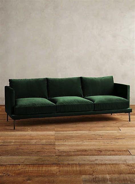 green velvet settee the hunt for a non velvet green sofa projects to try