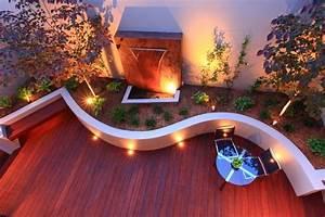 éclairage Escalier Extérieur : spot led ext rieur 45 id es sur l 39 clairage de jardin moderne ~ Premium-room.com Idées de Décoration