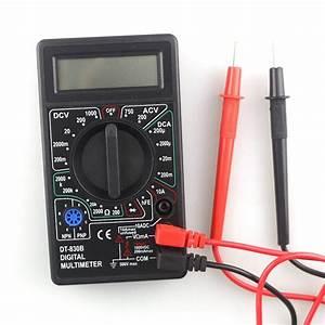 Dt830b Xl830l Mini Multimeter Lcd Digital Multimetro Volt