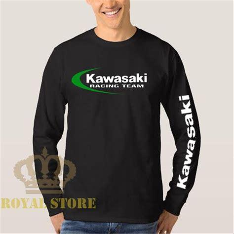 Tshirt Kaos Baju jual tshirt baju kaos kawasaki lengan panjang 4