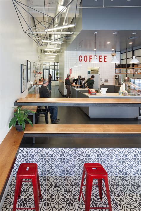 Innovative Bar Design by Reved Coffee Shops Modern Coffee