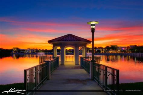 downtown at the gardens sunset palm gardens gazebo