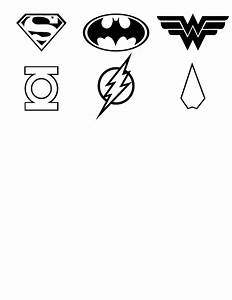 Black And White Superhero Logos Pictures to Pin on ...
