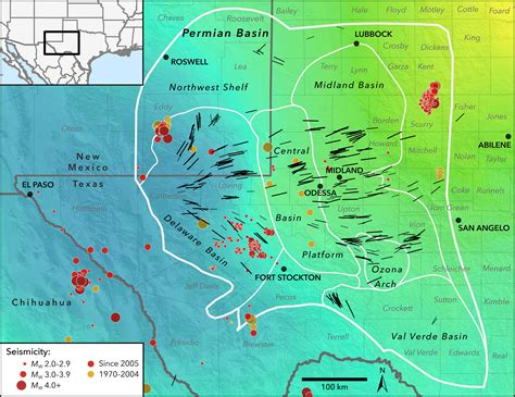 New Map Profiles Induced Earthquake Risk Stanford News