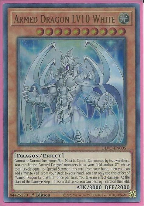 blvo en armed dragon lv white ultra rare blazing