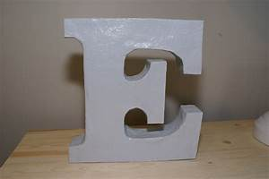 24 diy paper mache letters guide patterns for Paper mache greek letters