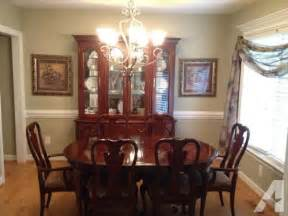 cherry dining room set for sale in archers lodge