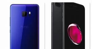 Iphone 7 Comparatif : htc u ultra vs iphone 7 plus comparatif des fiches techniques en images ~ Medecine-chirurgie-esthetiques.com Avis de Voitures