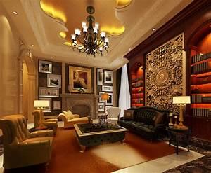 Luxury living room 3D Model .max - CGTrader.com