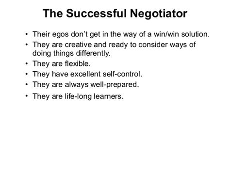Quotes Negotiation Skills