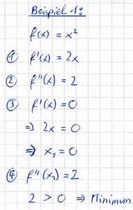 Minimum Maximum Berechnen : extremwerte hochpunkt tiefpunkt ~ Themetempest.com Abrechnung