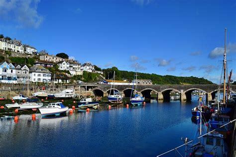 Looe Bridge, Cornwall, Uk Jigsaw Puzzle In Bridges Puzzles On Thejigsawpuzzlescom