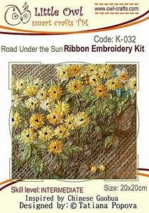 Road Under The Sun Ribbon Embroidery Kit
