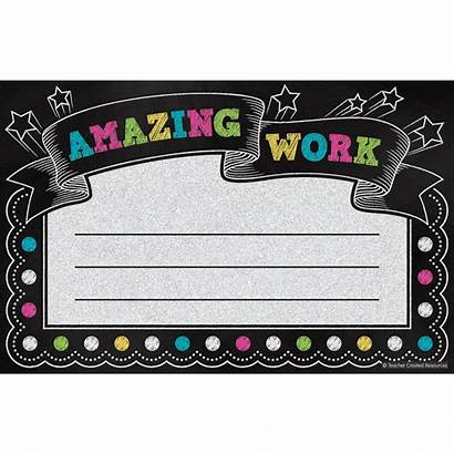 Amazing Chalkboard Brights Certificate Certificates Awards Computer
