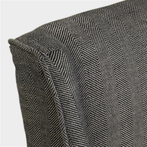 Charcoal Herringbone Lawford Dining Chairs  World Market