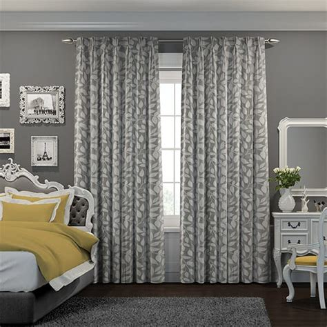 5 styles of grey curtains